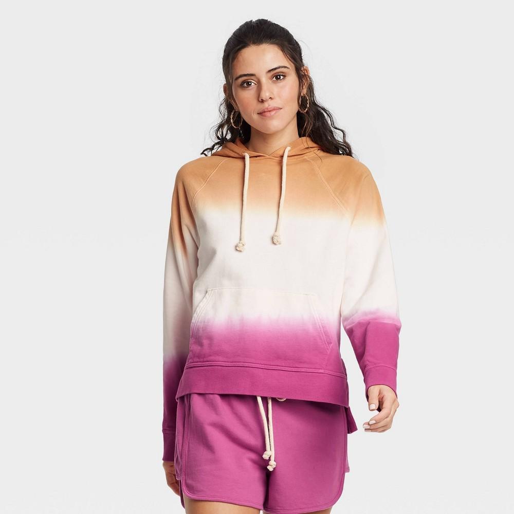 Women 39 S Hooded Sweatshirt Universal Thread 8482 Pink Xl