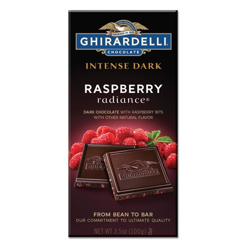 Ghirardelli Intense Dark Raspberry Radiance Dark Chocolate Bar - 3.5oz - image 1 of 4