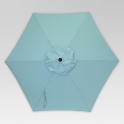 7.5u0027 Round Patio Umbrella   Turquoise   Room Essentials™ : Target