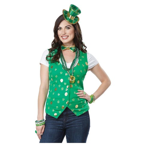 Women's Lucky Lady Kit Adult Costume Small/Medium - image 1 of 1