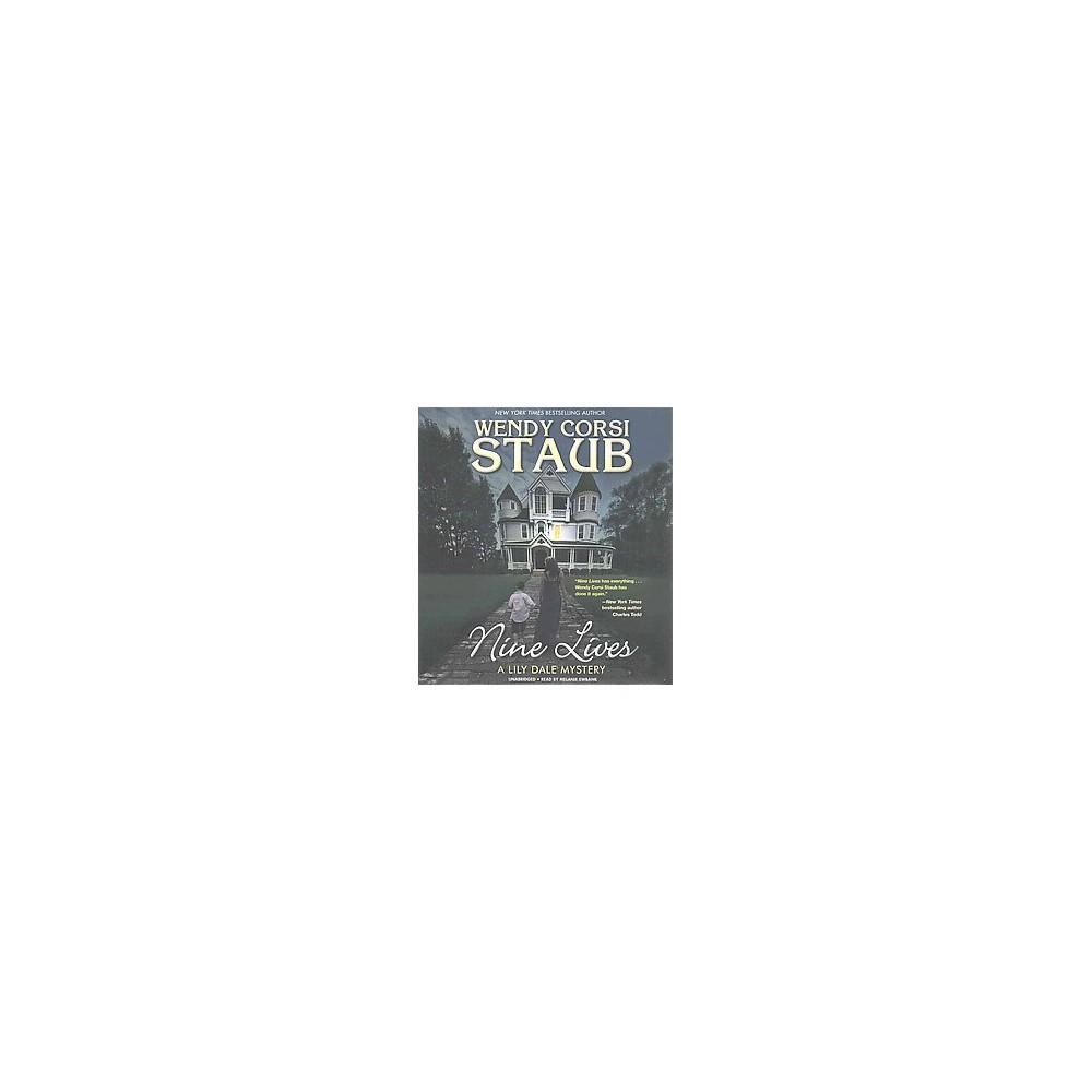 Nine Lives (Unabridged) (CD/Spoken Word) (Wendy Corsi Staub)