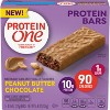 Protein One Peanut Butter Chocolate Protein Bar - 5ct - image 2 of 3