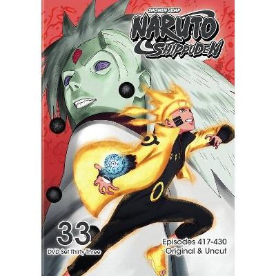 Naruto Shippuden: Box Set 33 (DVD)(2018)