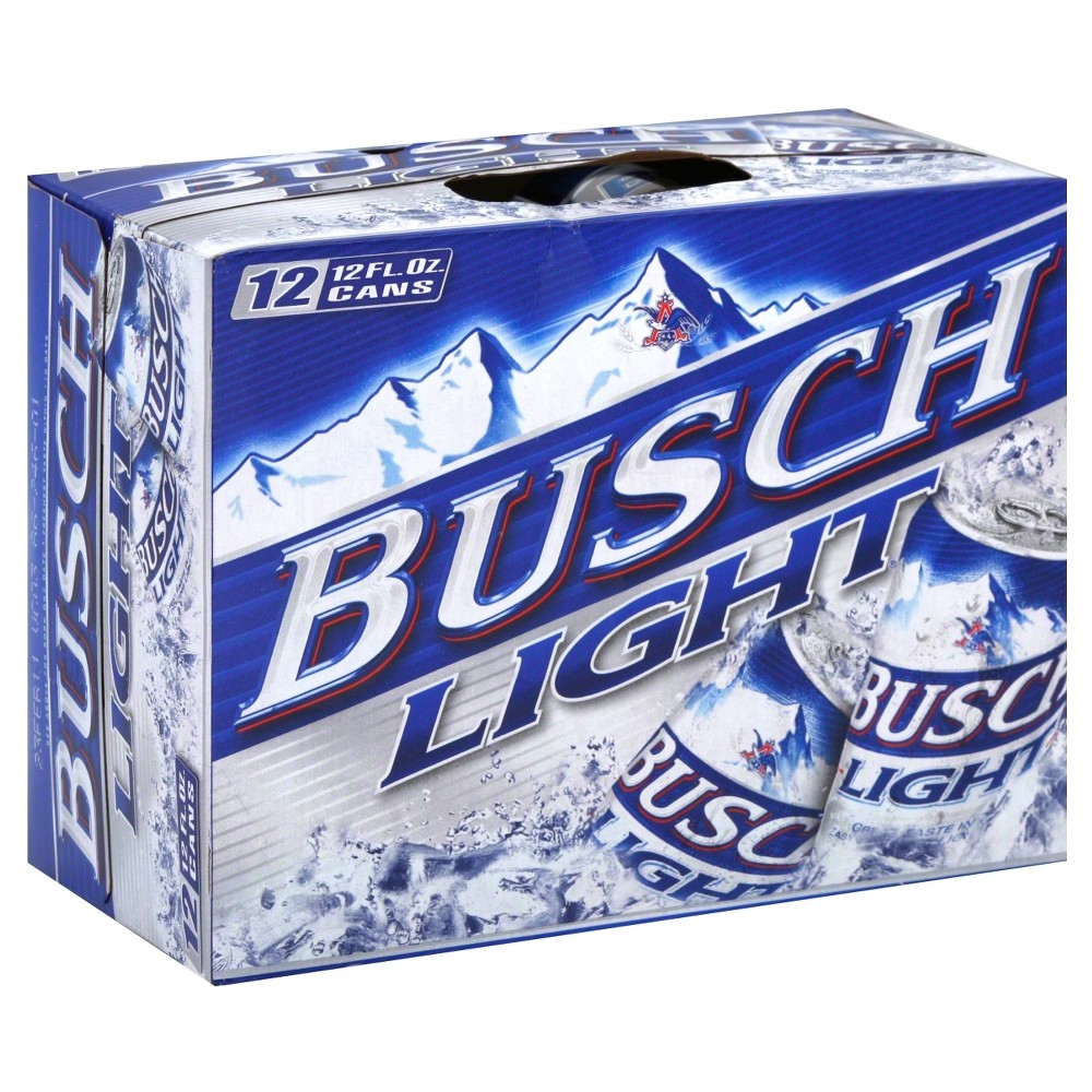 UPC 018200008016 - Busch Light Beer Cans 12 oz, 12 pk | upcitemdb com