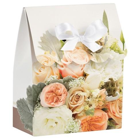 12ct Rose Gold Bouquet Favor Bags Target