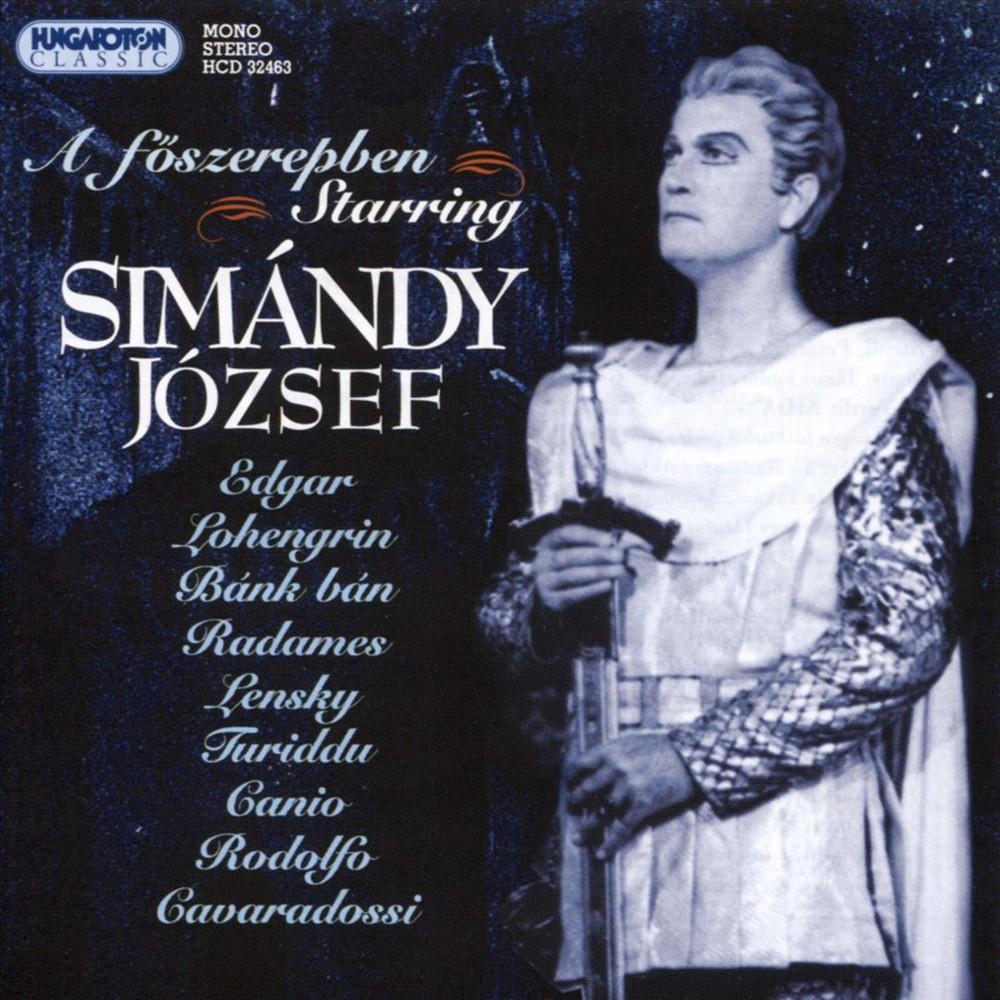 Jozsef Simandy - Starring:Jozsef Simandy (CD)
