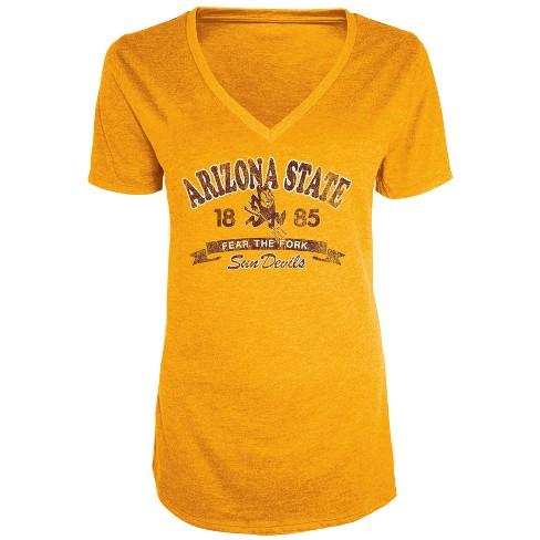 2f84d219844 Arizona State Sun Devils Women s Short Sleeve...   Target