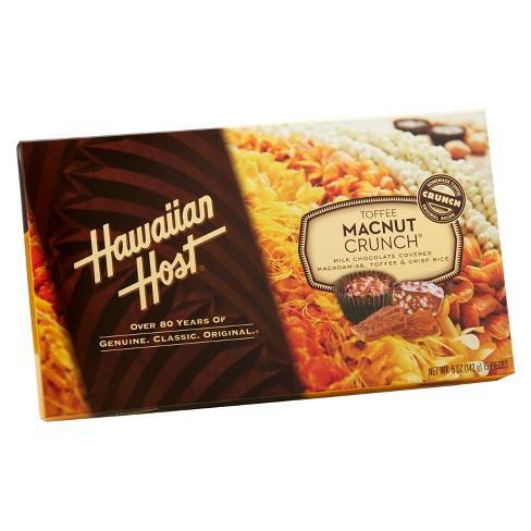 Hawaiian Host Toffee Macnut Crunch - 5oz - image 1 of 1