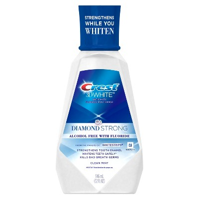 Mouthwash: Crest 3D White Diamond Strong