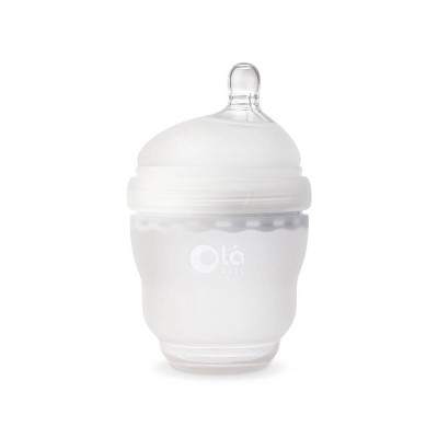 Olababy Gentle Baby Bottle - Frost - 4oz