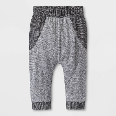 Baby Boys' Jogger Pants - Cat & Jack™ Gray Newborn
