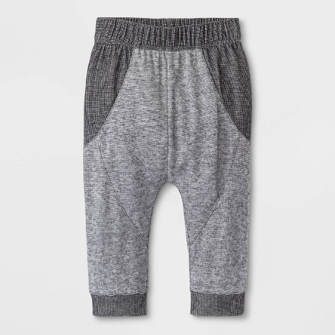 Baby Boys' Jogger Pants - Cat & Jack™ Gray - image 1 of 1