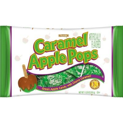 Caramel Apple Pops Halloween Bag - 11.25oz