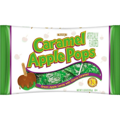 Caramel Apple Pops Halloween Bag - 11.25oz / 17ct - image 1 of 2