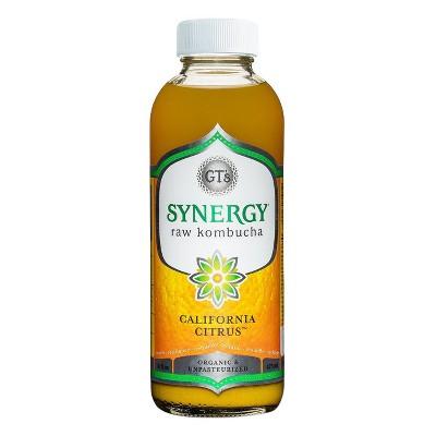 GT's Synergy Organic California Citrus Raw Kombucha - 16 fl oz