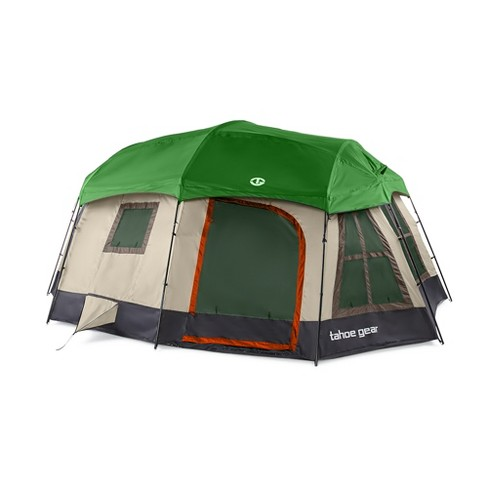 Tahoe Gear Ozark TGT-OZARK-16-D Large 16 Person 3 Season Family Camping Cabin Tent, Brown - image 1 of 4