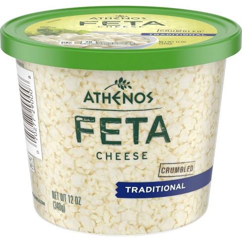 Athenos Traditional Feta Cheese - 12oz - image 1 of 4