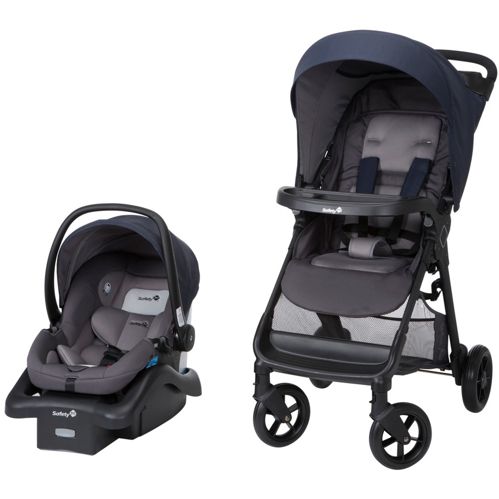 Image of Safety 1st Smoothride Travel System - Ombre Blue