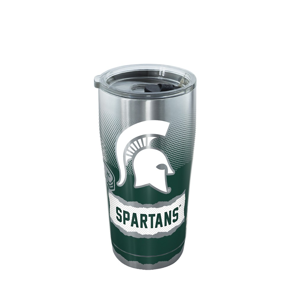 Tervis Michigan State Spartans Knockout 20oz Stainless Steel Tumbler with lid