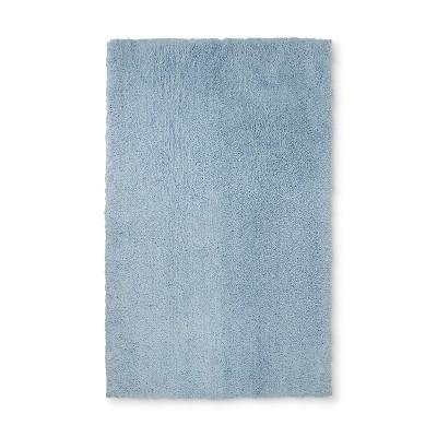 Solid Bath Rug Glowing Blue - Fieldcrest®