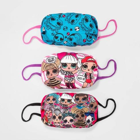 Kids' 3pk L.O.L. Surprise! Face Mask - image 1 of 1