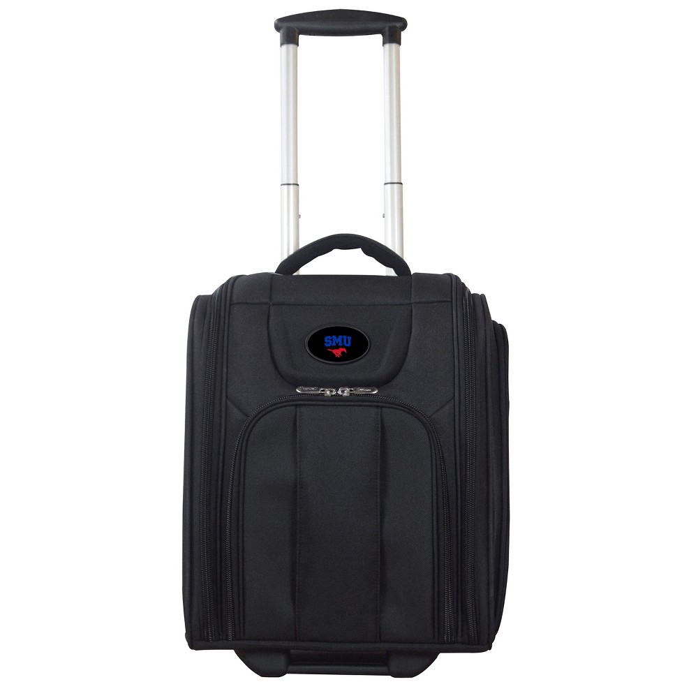 Smu Mustangs Deluxe Wheeled Laptop Briefcase Overnighter, Adult Unisex, Size: Small