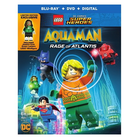 Lego DC Super Heroes: Aquaman: Rage Of Atlantis (Blu-Ray + DVD + Digital) - image 1 of 3