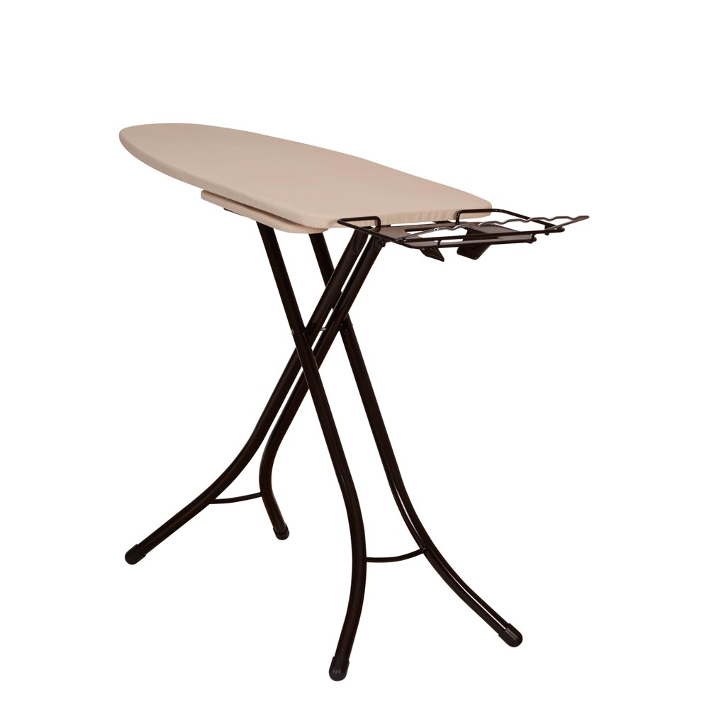 Household Essentials Mega Pressing Station Ironing Board, Brown