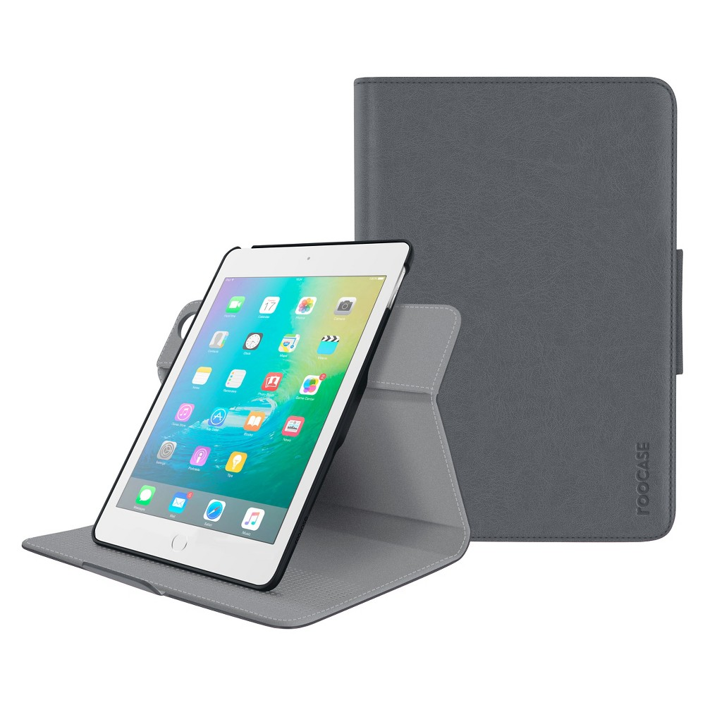 Roocase iPad Mini 4 Orb Folio Case - Gray