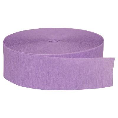 Lavender Crepe Streamer - Spritz™