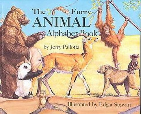 Furry Animal Alphabet Book (Paperback) (Jerry Pallotta) - image 1 of 1