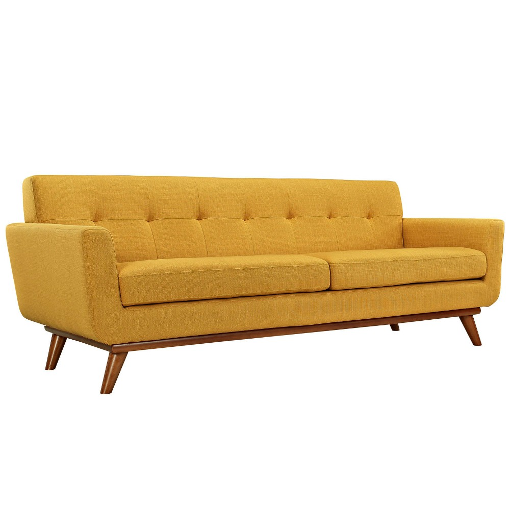 Engage Upholstered Sofa Citrus - Modway