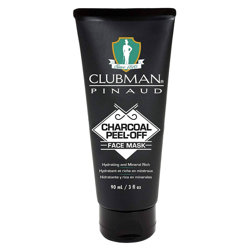 Image of Clubman Charcoal Peel-Off Face Mask - 3 fl oz