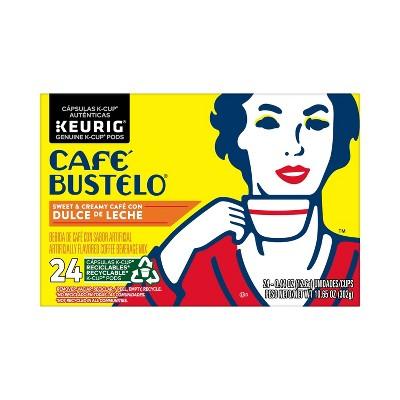 Cafe Bustelo Dulce de Leche Medium Roast Coffee - Keurig K-Cup Pods - 24ct