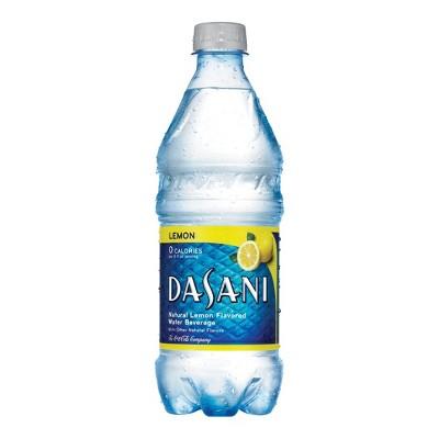 Dasani Lemon Flavored Water - 20 fl oz Bottle