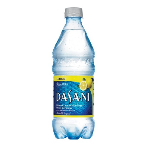 Dasani Lemon Flavored Water - 20 fl oz Bottle - image 1 of 3