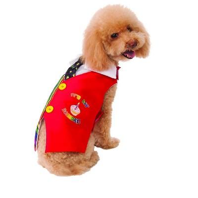 Rubies Happy Barkday Vest Pet Costume