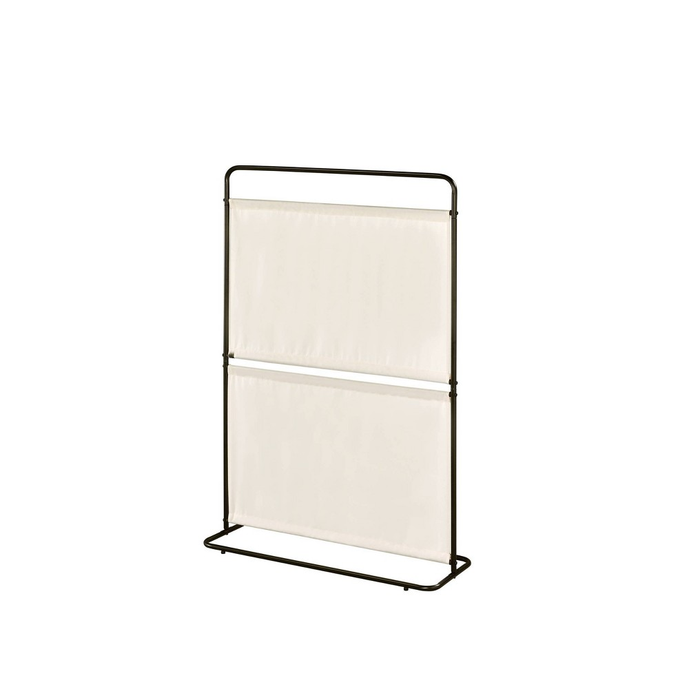 Image of Saturn Room Divider Two Fabric Beige - Proman Products