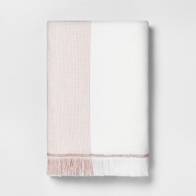 Bath Towel Microstripe Copper - Hearth & Hand™ with Magnolia