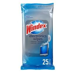 Windex Electronics Wipes - 25ct