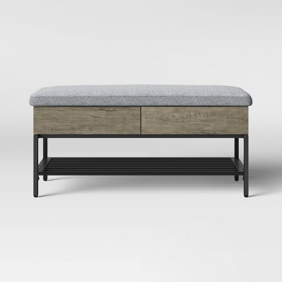 Loring Storage Bench Gray - Project 62™