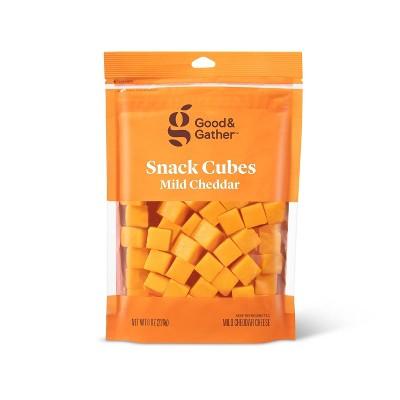 Mild Cheddar Cheese Cubes - 8oz - Good & Gather™