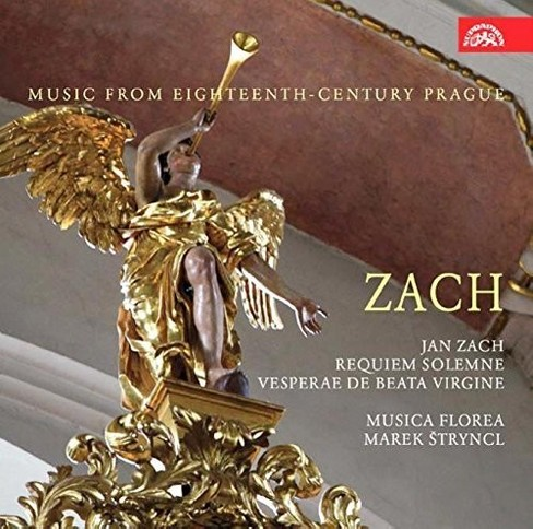 Marek Stryncl - Zach:Requiem & Vesperae De Beata Virg (CD) - image 1 of 1