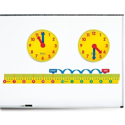 Learning Resources Magnetic Elapsed Time Set, Ages 7+ - image 1 of 4
