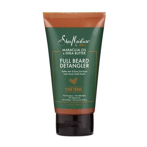 Shea Moisture Full Beard Detangler for a Full Beard Maracuja Oil & Shea Butter to Soften and Shine Beards - 4oz - image 1 of 4