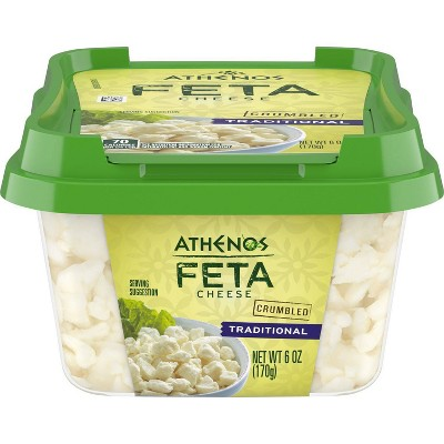 Athenos Traditional Feta Cheese - 6oz
