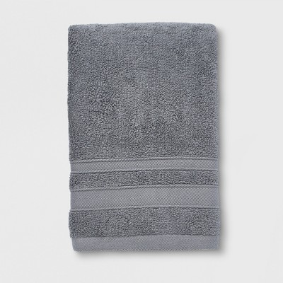 Performance Solid Texture Hand Towel Dark Gray - Threshold™