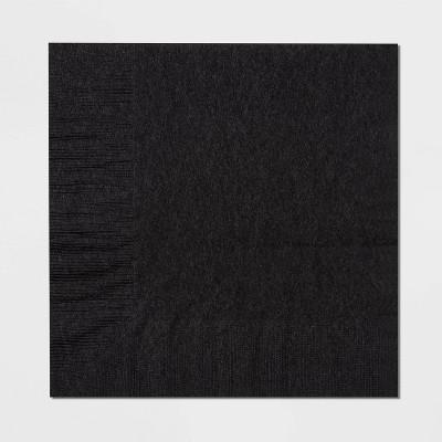 60ct Black Disposable Halloween Lunch Napkins - Hyde & EEK! Boutique™
