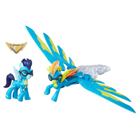 My Little Pony Guardians of Harmony Spitfire and Soarin' Figures - image 1 of 2
