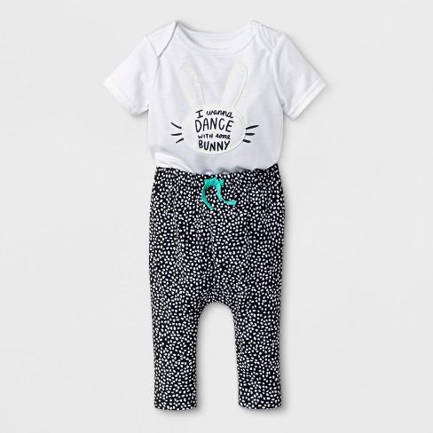 47e8f5637b97 Baby Boys  2pc Short Sleeve Bodysuit And Joggers Set - Cat   Jack ...